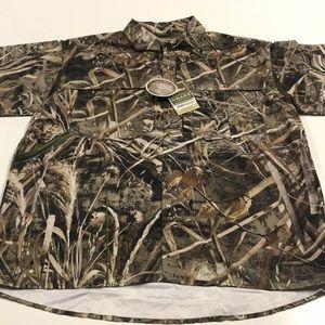 🆕 🦆 DRAKE Mens Camouflage Hunting Shirt REALTREE